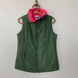 Columbia Vest Fleece Lined Small #2221